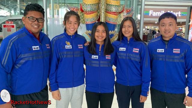 หวดยช.ทีมหญิงพร้อมสู้ศึกจูเนียร์เฟดคัพวางเป้าติด8ทีมโลก